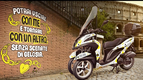 Zig Zag Scooter Sharing, il debutto a Roma