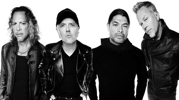 I Metallica presentano il nuovo disco con un concerto in live streaming