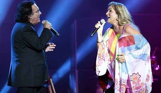 Albano e Romina incredibile reunion su RaiUno