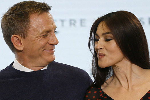 James Bond, il cast prima a Londra e poi qui a Roma