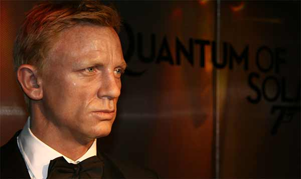 James Bond di cera Madame Tussauds