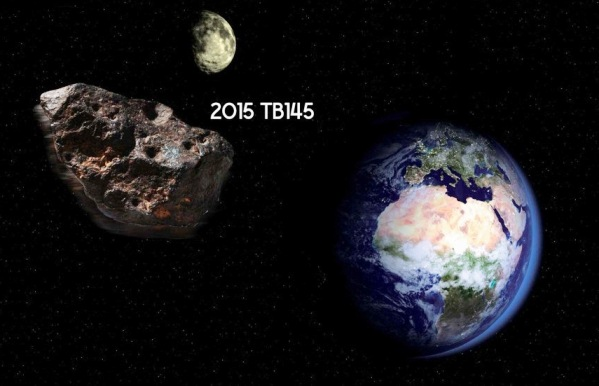 Nasa, asteroide 2015 TB145 in arrivo cometa di Halloween