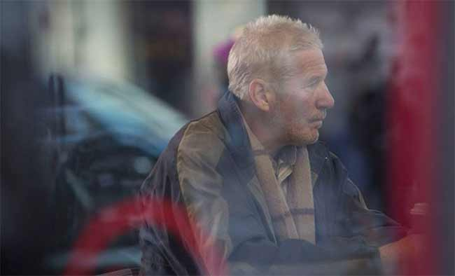 Richard Gere come un senzatetto