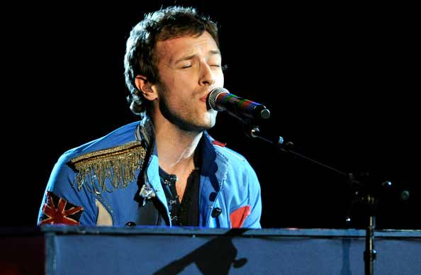 Chris Martin dedica a Jennifer Lawrence