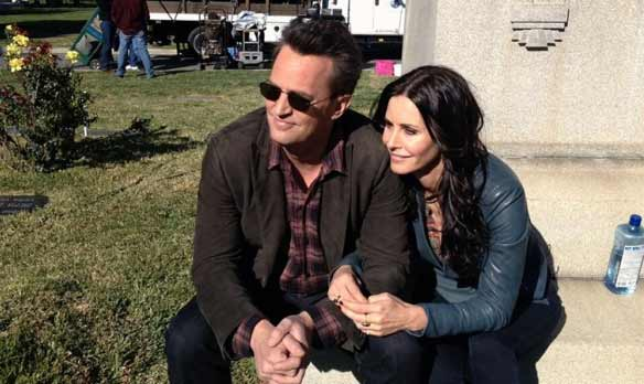 Courteney Cox e Matthew Perry friends anche nella realta