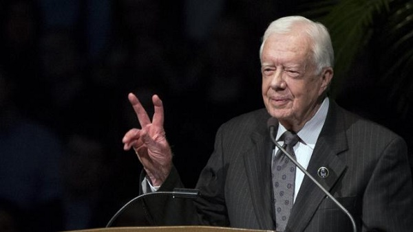Jimmy Carter guarito dal cancro