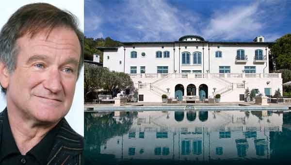 Robin Williams venduta Villa Sorriso per 18 milioni