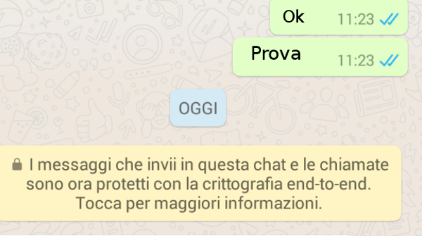 WhatsApp attiva la crittografia end to end a prova di FBI