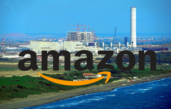 Amazon, le vecchie Centrali Enel diventano server farm