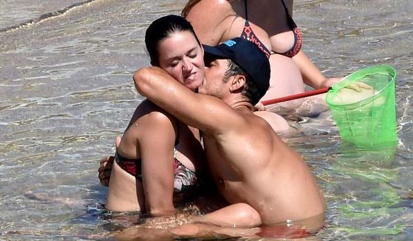 Katy Perry e Orlando Bloom basta con i baci