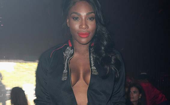 serena williams gucci milano
