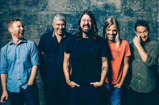 Foo Fighters in Europa nel 2017, prima data in Portogallo