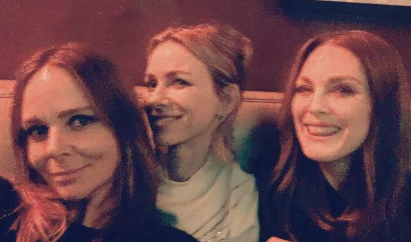 Naomi Watts e Julianne Moore al bar potere alle donne