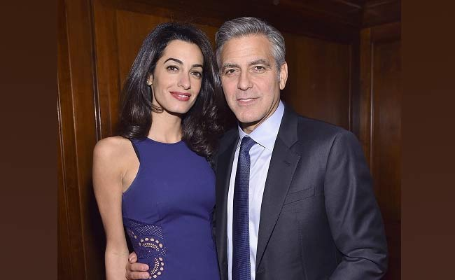 George Clooney e Amal in arrivo due gemelli