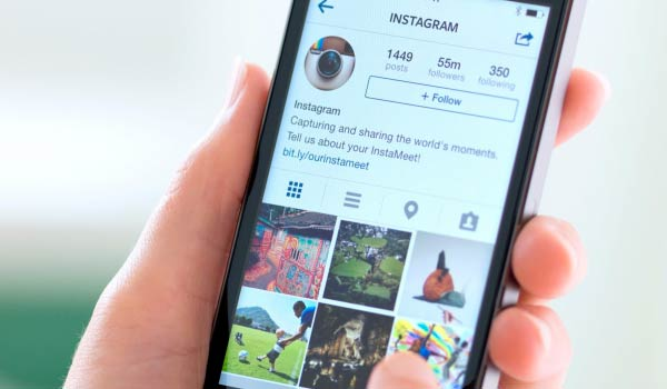 Instagram foto multiple con un solo post