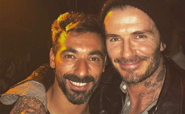 david beckham bello rivedere pocho