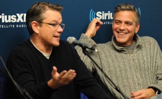matt damon conferma la paternita di george clooney