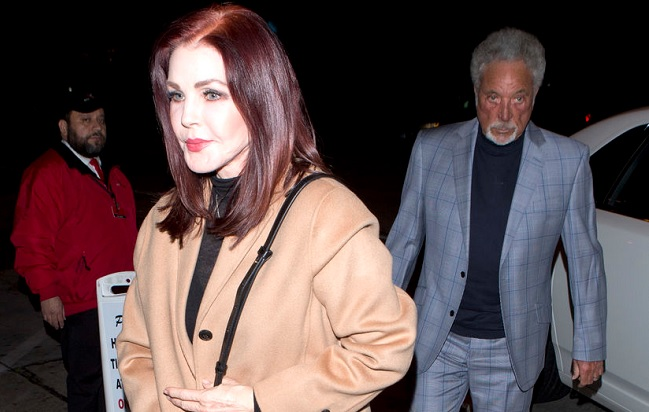 tom jones e priscilla presley