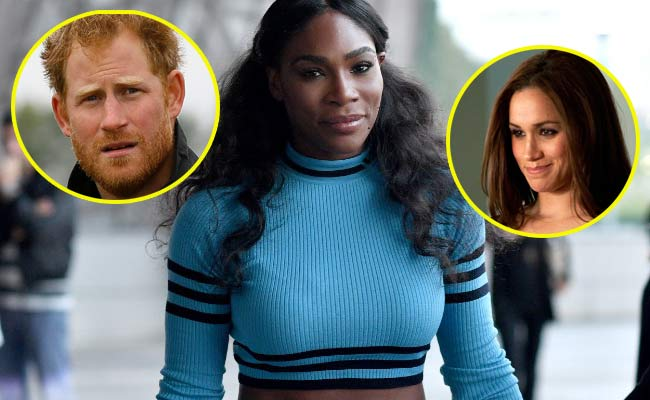 harry e meghan matrimonio di serena williams