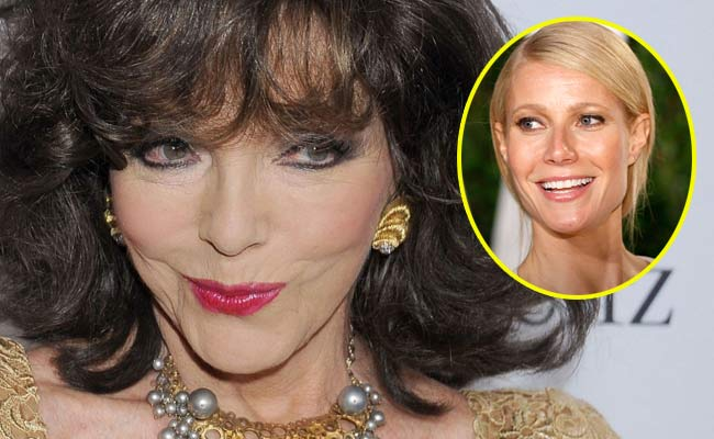 joan collins prende in giro gwyneth paltrow