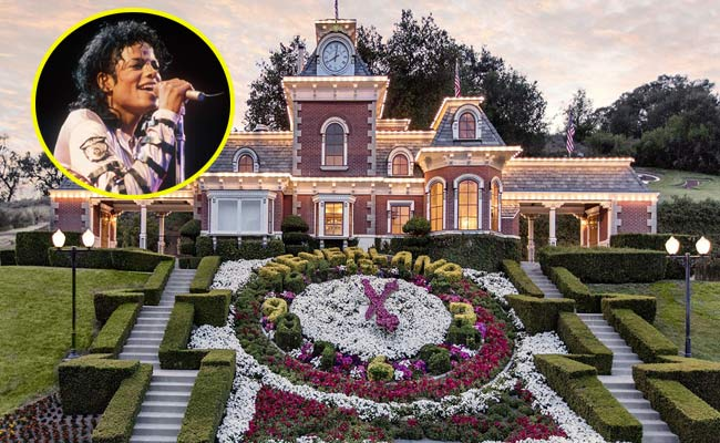 michael jackson neverland in vendita