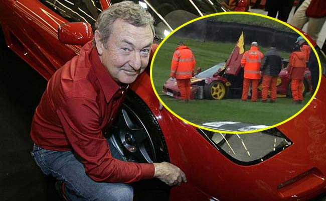 nick mason incidente in pista