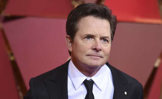 michael j fox partita di hockey