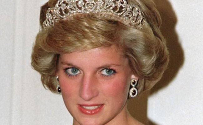 lady diana auto incidente da rottamare
