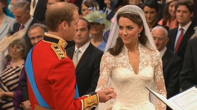 Kate Middleton al Principe William: