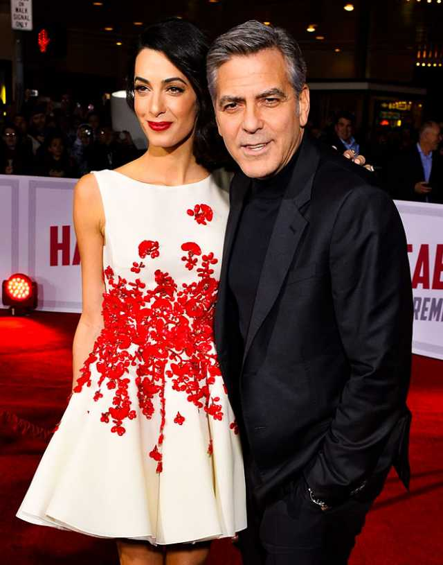 George Clooney, giornale francese pubblica foto