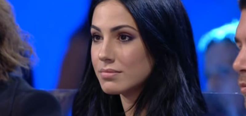 Giulia De Lellis che accusa ad Andrea Damante