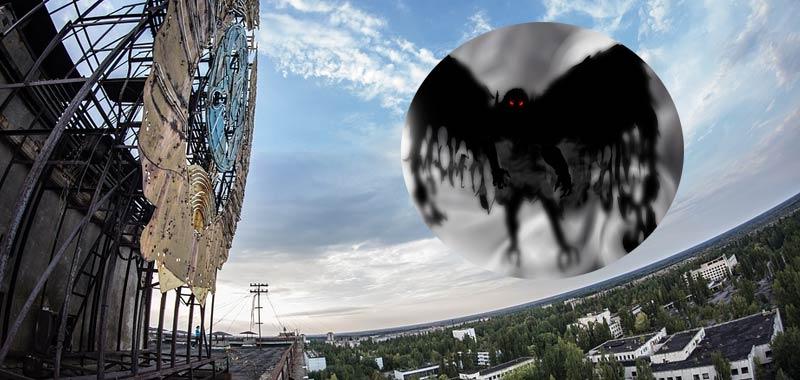 Chernobyl rivelazioni uomo falena sorvolava il reattore prima de esplosione