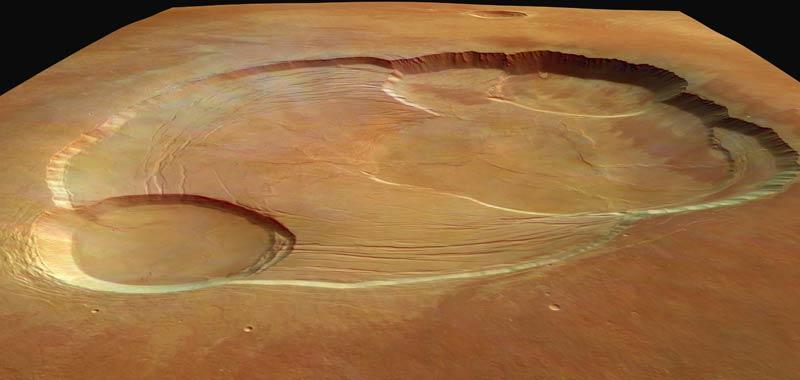 Cratere enorme scoperto su Marte fonte di vita aliena