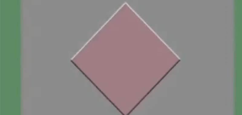 Il diamante perpetuo illusione ottica che fa impazzire il web