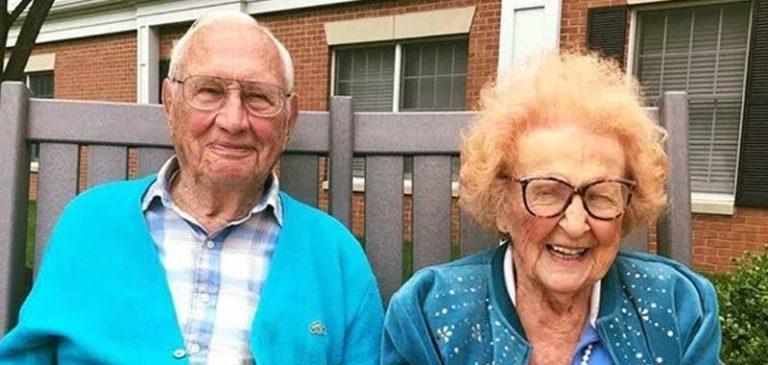 Coppia 100 e 102 anni si innamorano in una casa di cura