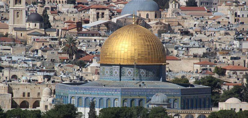 Gerusalemme citta santa per tre religioni