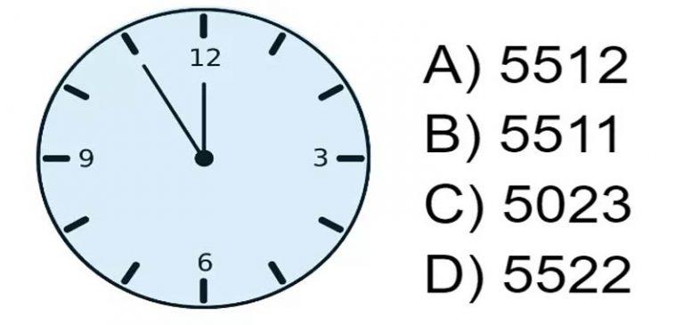 Quale numero corrisponde all'orologio?