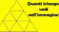Quanti triangoli ci sono ne immagine