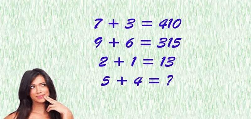 Riesci a risolvere questa facile equazione