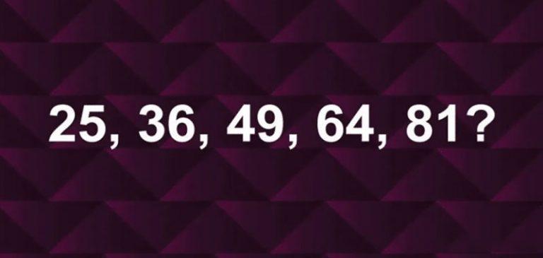Test: Completa la sequenza di numeri