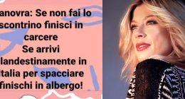 Maddalena Corvaglia sbotta senza scontrino vai in carcere e i migrant