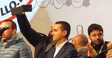 Napoli assenze pesanti alla grande festa del Movimento 5Stelle