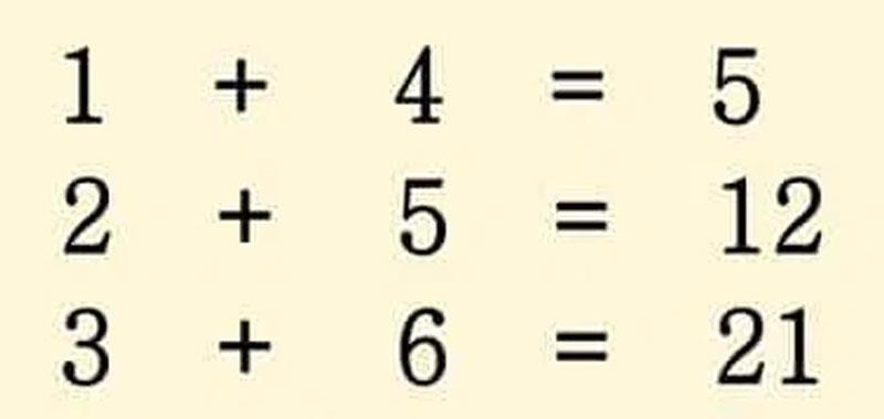 Riesci a risolvere questo quiz matematico
