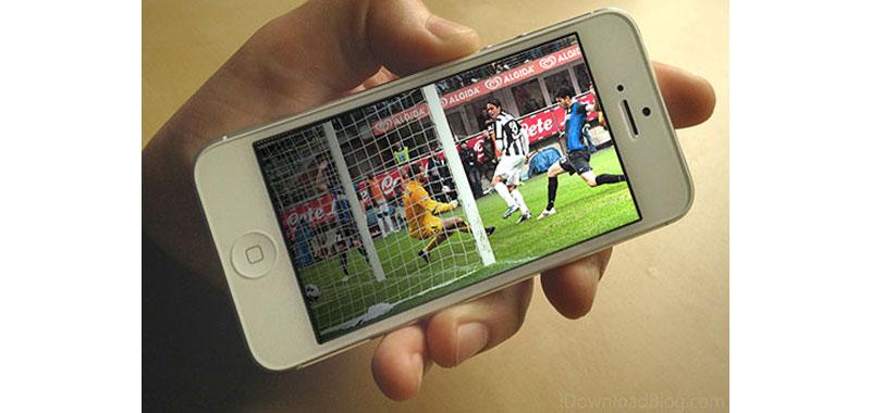 Smartphone grandi eventi e tifosi