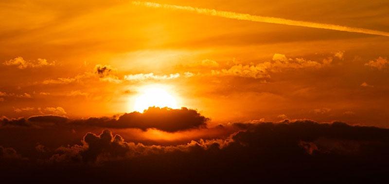 Sole ecco come orientarsi senza altri riferimenti