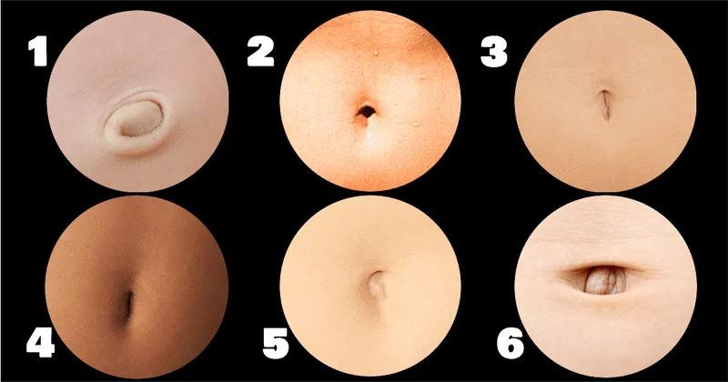 scegli la forma del tuo ombelico