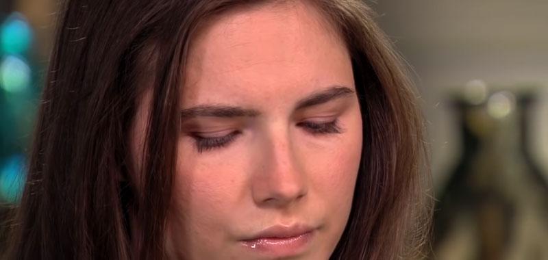 Amanda Knox avra una rubrica su amore e dolori