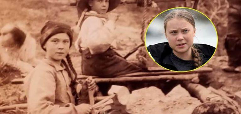 Greta Thunberg viaggia nel tempo, era viva 105 anni fa?