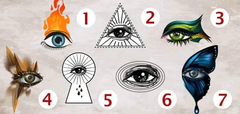 Quale occhio rappresenta la tua personalita