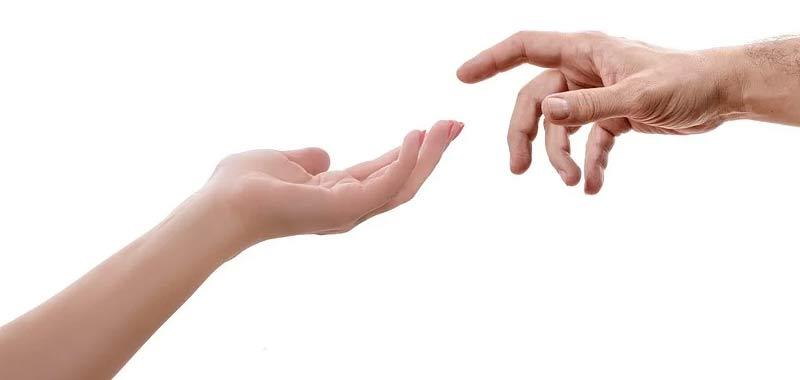 Test personalita Come mostri le mani agli altri